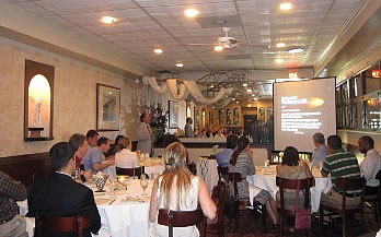 Dentist Forum, Feeling Great Sleep Medical Centers Lunch and Learn Venue